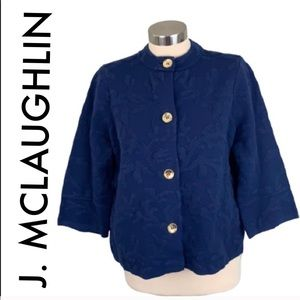 👑 J. MCLAUGHLIN SOFT JACKET / BLAZER 💯AUTHENTIC